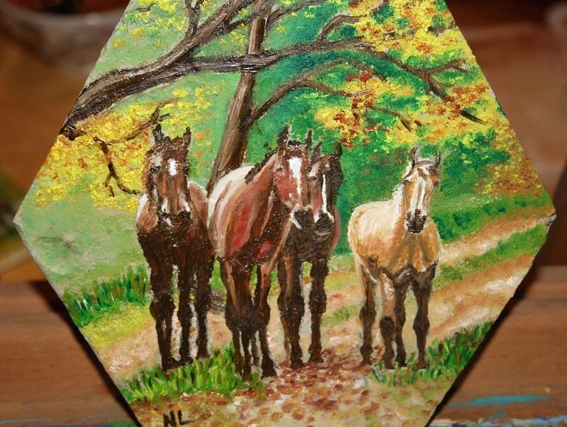 Tomette chevaux